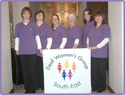 South East Deaf Womens Group